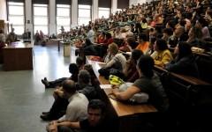 studenti all'università