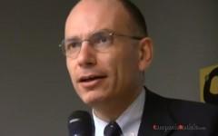 Enrico Letta, Aversa 31 gennaio 2013