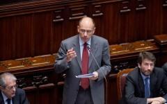 Enrico Letta in Parlamento
