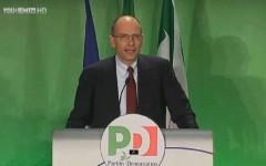 Enrico Letta all'Assemblea PD