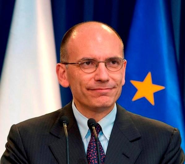Enrico Letta, Presidente del Consiglio italiano - letta-UE