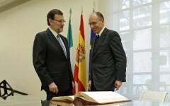 Alla Moncloa incontro tra Enrico Letta e Mariano Rajoy