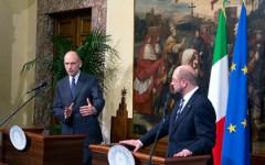 Palazzo Chigi: incontro tra Letta e Shulz