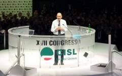 Intervento del premier Enrico Letta al congresso confederale della cisl