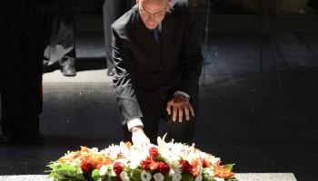 Enrico Letta allo Yad Vashem, Gerusalemme