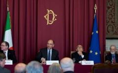 Enrico Letta, Ignazio Visco, Eugenio Scalfari