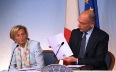 Bonino e  Letta presentano Destinazione Italia