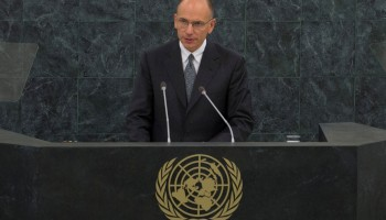 Letta all'Assemblea Generale ONU