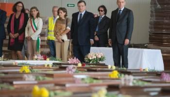 Letta e Barroso a Lampedusa