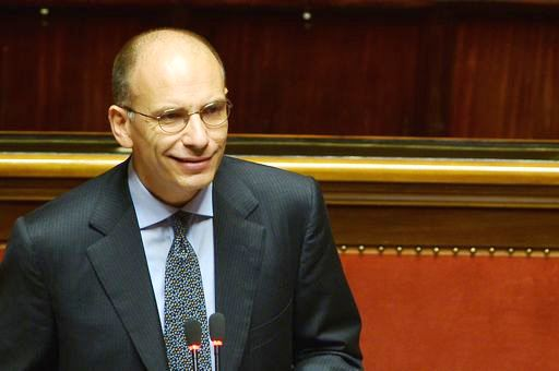 "Italy's Prime Minister Enrico Letta delivers a speech on October 2, 2013 at the Senate before today's confidence vote at the Parliament. Enrico Letta warned lawmakers ahead of a crucial vote of confidence today that the country ran a ""fatal"" risk as Silvio Berlusconi tries to topple his government. ""Italy runs a risk that could be a fatal risk. Seizing this moment or not depends on us, on a yes or a no,"" Letta said in his address.  AFP PHOTO / FILIPPO MONTEFORTE"