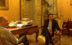 Letta e Renzi a Palazzo Chigi