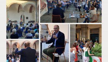 apertura campagna elettorale Letta in Toscana